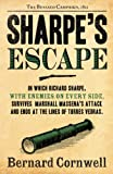 Front cover for the book Sharpe's Escape by Bernard Cornwell