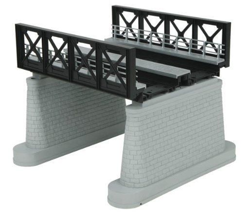 MTH MTH401112 O 2-Track Girder Bridge, Black