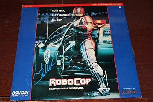 (Peter Weller Signed Robocop Laser Disc)