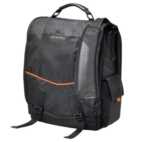 "EVERKI EKS620 Urbanite Laptop Vertical Messenger Bag, fits up to 14.1"" by Everki"