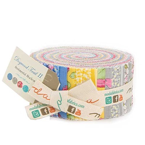 Moda Sentimental Studios (Dogwood Trail II Jelly Roll (33030JR) by Sentimental Studios for Moda)