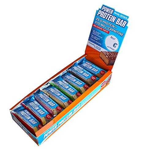 Body Attack Power Protein Bar, Mix-Box 24 x 35g, 1er Pack (1 x 0.84kg)