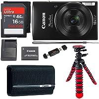 Canon PowerShot ELPH 190 Digital Camera 10x Optical Zoom...