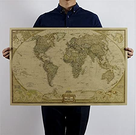World map antique style vintage maps wall chart maxi poster world map antique style vintage maps wall chart maxi poster wallpaper 7347cm gumiabroncs Images