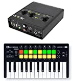 Novation AUDIOHUB 2x4 Audio interface+ Launchkey 25-Key USB Keyboard Controller