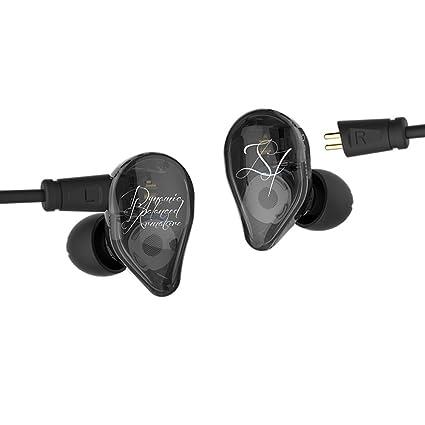KZ ED16 Auriculares intrauditivos con micrófono, Yinyoo KZ Triple Drivers con auriculares de alta fidelidad