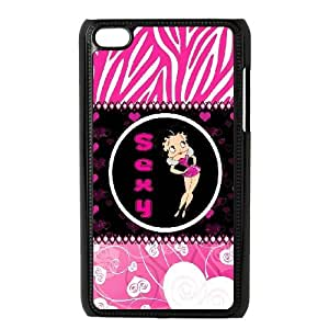 Betty Boop for Ipod Touch 4 Phone Case 8SS460429