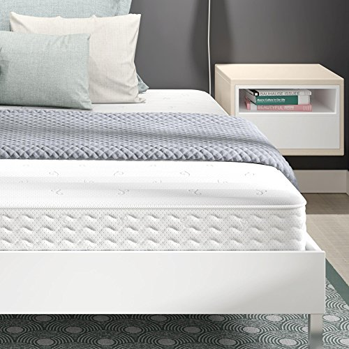 (Signature Sleep Contour 8 Inch Reversible Independently Encased Coil Mattress with CertiPUR-US Certified Foam, King King)