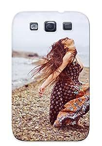 Exultantor Fashion Protective Turtle Lighthouse Mood Girl Ocean Sea Birds Case Cover For Galaxy S3