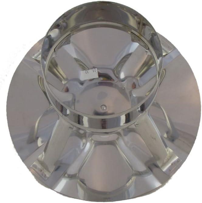 120 200 110 Edelstahl EW 140 180 220 150 Regenhaube Wellendach 100 verschiedene Durchmesser 100 250 mm 160 125 130