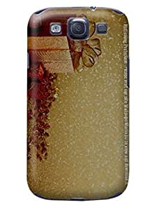 Custom Merry Christmas New fashionable TPU Cellphone Protector Cover Case for Samsung Galaxy s3 hjbrhga1544