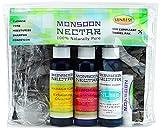 Cheap Monsoon Nectar Sunrise Travel Kit ~ Energizing, Anti Acne, Shrink Large Pores, TSA Approved