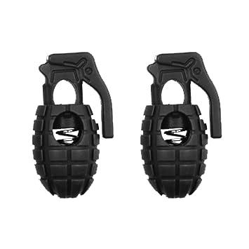 Zapatos Botas forma de granada, hebilla de balón multifuncional rápida hebilla: Amazon.es: Deportes y aire libre
