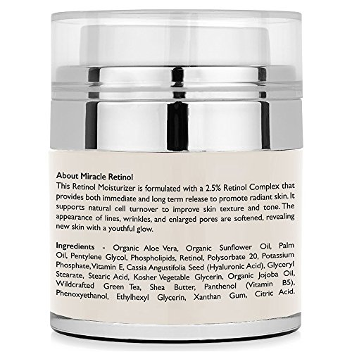 Retinol Moisturizer Cream for Face - With Retinol