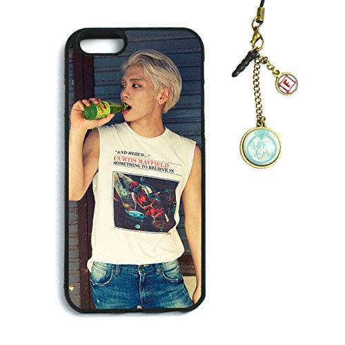 Fanstown Shinee odd Married to music iphone6 case + Dust plug charm