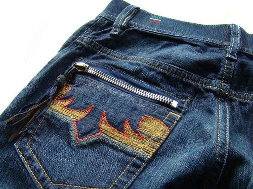Diesel Damen Jeans Hose Cayre 0088W Blau #4