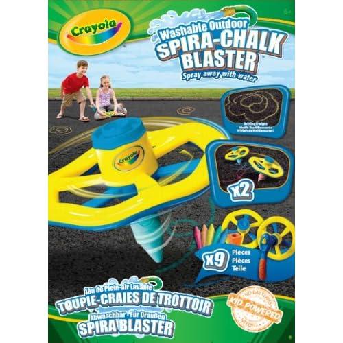 Crayola 03-5058 - Loisir Créatif - Craie - Toupie Craies de Trottoir