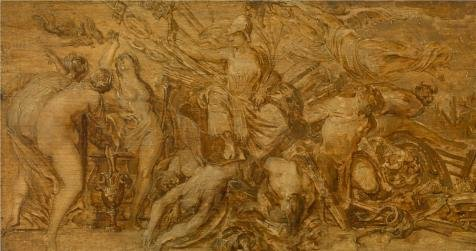 The Perfect Effect Canvas Of Oil Painting 'Navolger Van Peter Paul Rubens,Bellona,1577-1640' ,size: 20x38 Inch / 51x96 Cm ,this Amazing Art Decorative Prints On Canvas Is Fit For Living Room Gallery Art And Home Decor And Gifts