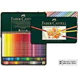 [Faber-Castell] Polychromos Color Pencils Metal Tin Set of 120 For Professionals + Free Gift Set