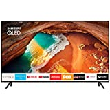 "TV QLED Samsung 75"" 75Q60R UHD 4K Smart, Tela de Pontos Quânticos, HDR 500, Modo Ambiente, HDMI, USB"