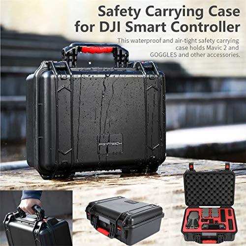 MOZATE PGYTECH Hardshell Shockproof Case Box Suitcase Bag for DJI Mavic 2 &Smart Controller (Black) by MOZATE (Image #5)