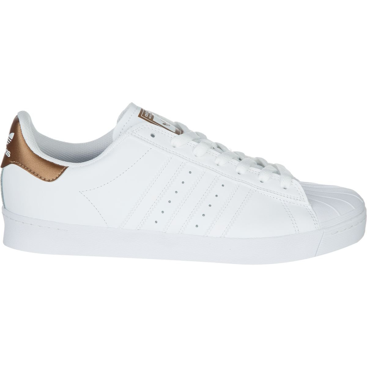 adidas Originals Men's Superstar Vulc Adv Shoes B01LYJP7EP 9.5 D(M) US|Ftwwht/Coppmt/Ftwwht