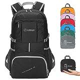 ZOMAKE Hiking Travel Backpack, Lightweight Water Resistant Backpack for Men Women