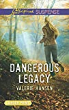 img - for Dangerous Legacy (Love Inspired Suspense (Large Print)) book / textbook / text book