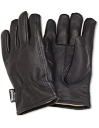 Men's Insulated Full-Grain Leather Driver Work Glove