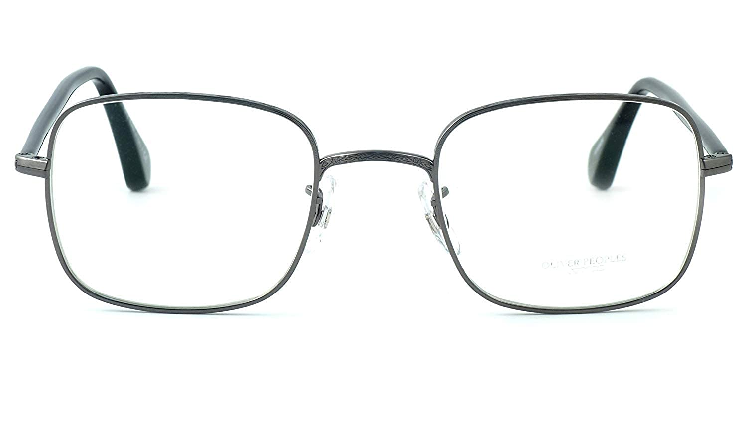 85b3b7550b0 Amazon.com  Oliver Peoples Optical Eyeglasses Redfield 1129 in Silver (5041)    DEMO LENS  Clothing