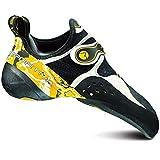 La Sportiva Solution Climbing Shoe - Men's White/Yellow 44