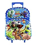Disney Toy Story Backpack 16″, Rolling Backpack 16″ & Lunch Bag 8″ for Kids (Optional – Depending on Selections) (Rolling Backpack Blue) For Sale
