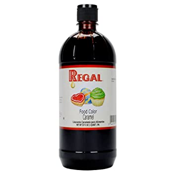 Amazon.com : Regal Liquid Food Coloring, 32 Ounces Perfect for Cakes ...
