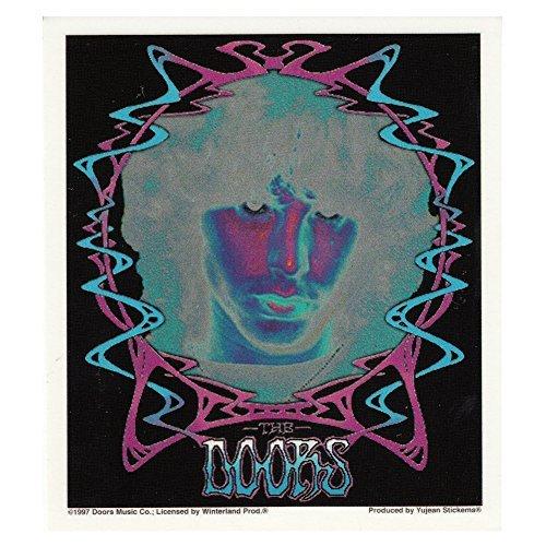 The Doors Psychadelic Negative Jim Morrison Sticker