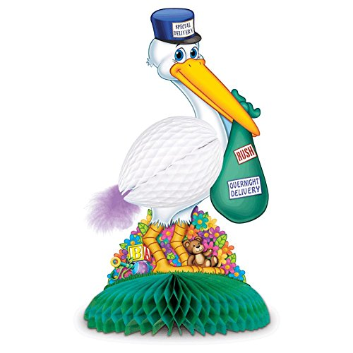 Stork Centerpiece Party Accessory (1 count) (Stork Baby)