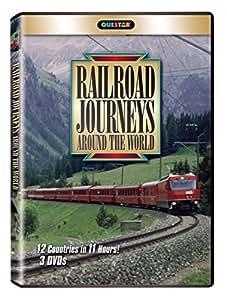 Railroad Journeys Around the World [Import]