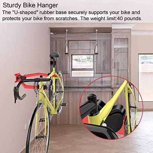Amazon.com: Hasit - Perchero de pared para bicicleta ...