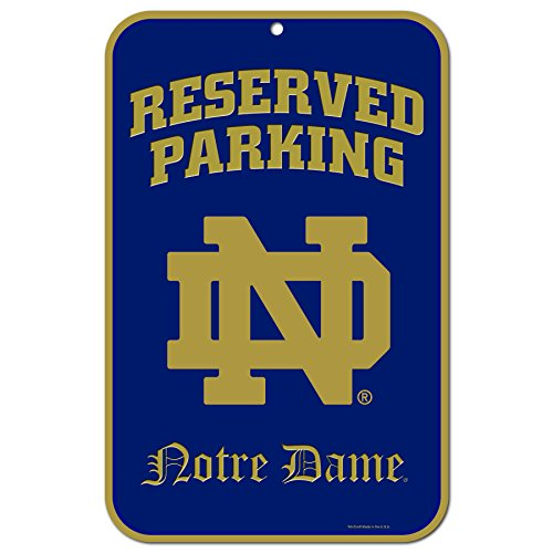NCAA Notre Dame Fighting Irish 11-by-17 inch Locker Room Sign
