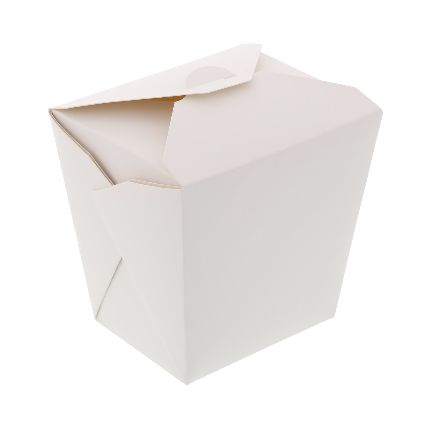 CiboWares White 32 Oz Folded Square Bottom Take-Out Containers, Case of 450 by CiboWares