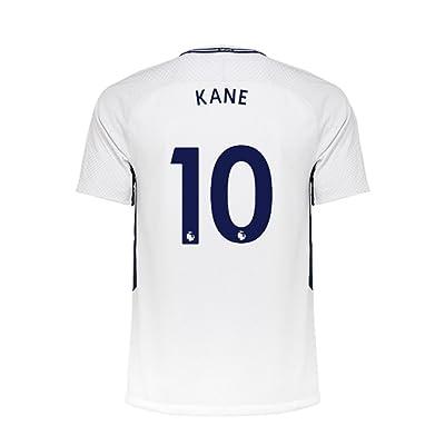 17/18 New Tottenham Hotspur Home Kane 10 Soccer Jersey Men's White Size L