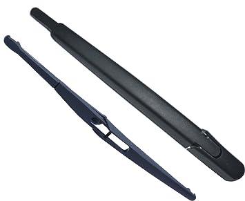 Escobilla limpiaparabrisas trasera para Peugeot 308 12-Inch 305 Mm Negro Conjunto de 2: Amazon.es: Coche y moto