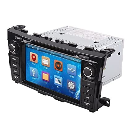 "Review OUKU8"" 2 Din In-dash"