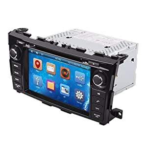 ouku8 2 din in dash touch screen car dvd player for nissan teana altima 2013 2014. Black Bedroom Furniture Sets. Home Design Ideas