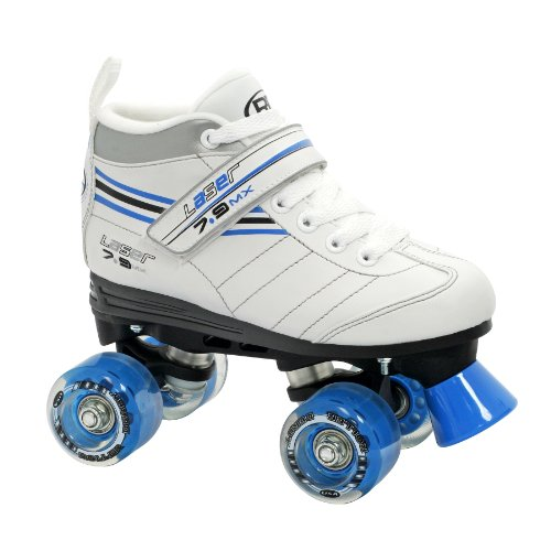 (Roller Derby Girl's Laser Speed Quad Skate, Size 03 )