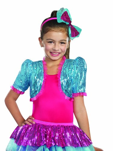 SugarSugar Dance Craze Bolero Shrug, Turquoise, (Dance Costumes Dancewear For Sale)