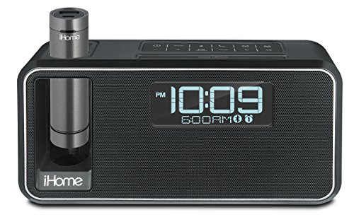 iHome iKN105BC Dual Charging Bluetooth Stereo Alarm Clock Radio/Speakerphone with NFC