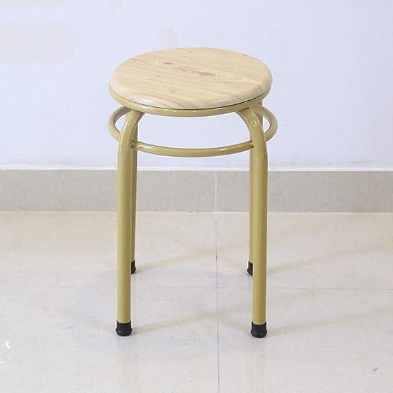 DEED Taburete de silla plegable Taburete de mesa de comedor ...