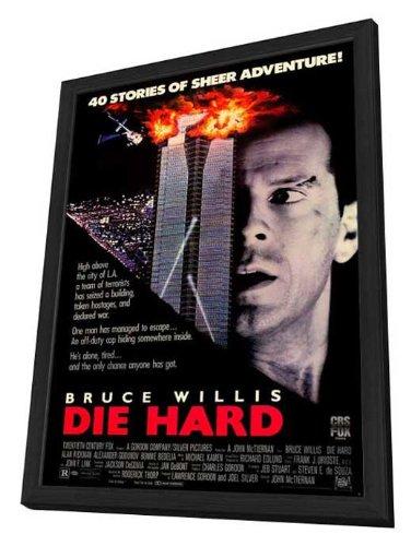 Die Hard - 27 x 40 Framed Movie Poster