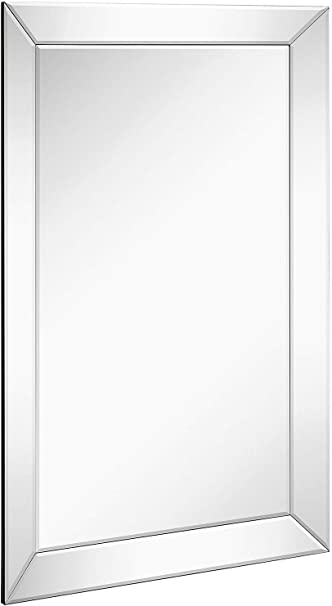 Amazon.com: Espejo de pared con marco, para colgar en ...