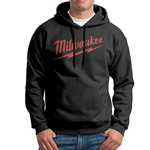 Anguoxia Men's Belt Sweatshirt Power Tool Logo Milwaukee Father's Day Gift Unisex Parrot Logo Sports Hoodie